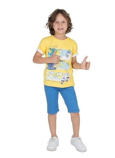 Silversun Kids Erkek Genç Cepli Şort- Sc 315642 Saks